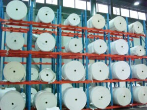 Printall paberrullide riiul