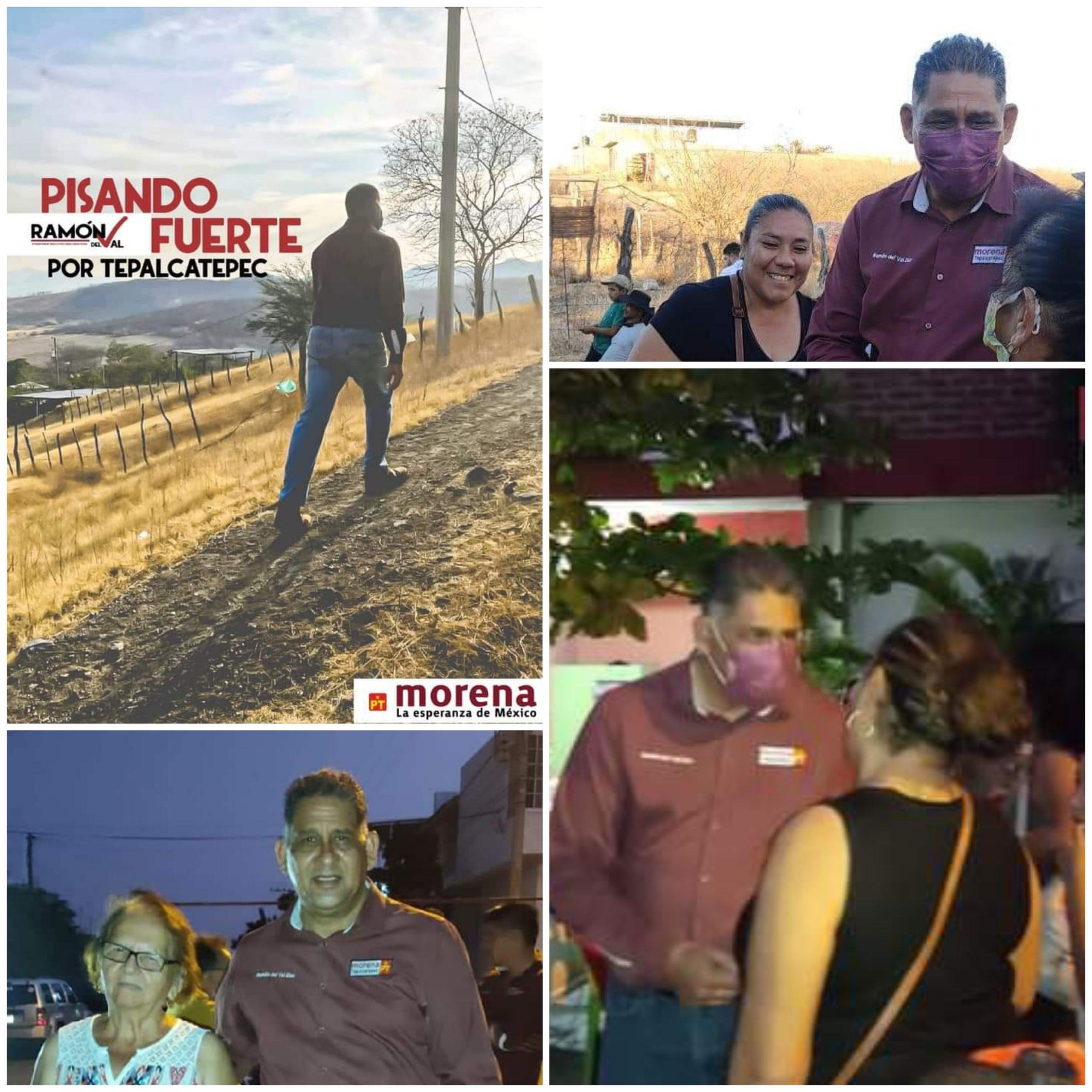 PERFILES PRESIDENCIABLES TERRACALENTEÑOS: RAMÓN DEL VAL DÍAZ, CANDIDATO A PRESIDENTE MUNICIPAL DE TEPALCATEPEC.