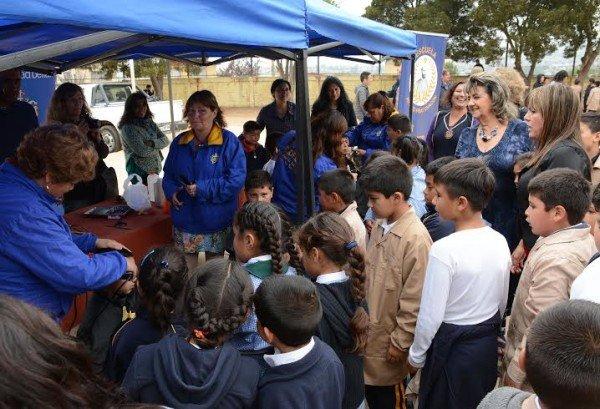 Alcaldesa Virginia Reginato, operativo corte de pelo escolar, 3