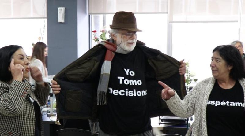Con intervención en oficinas del IPS autoridades llaman al buen trato de personas mayores