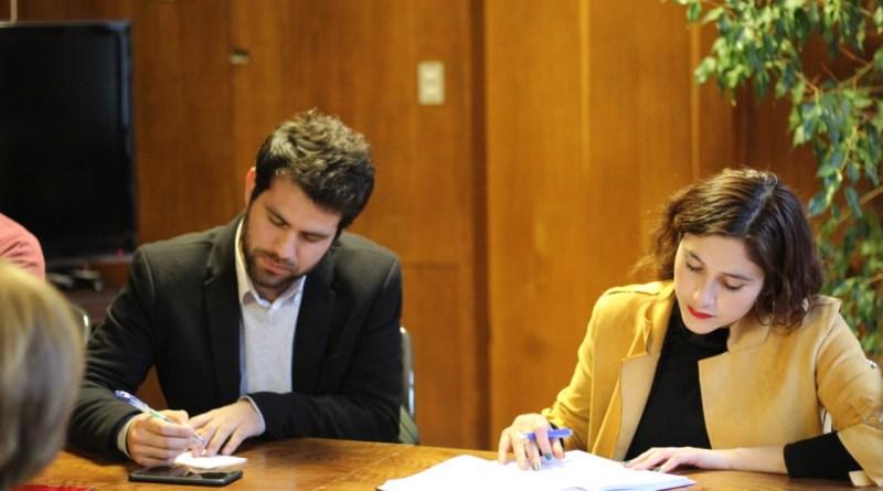 Transporte Gran Valparaíso: Diputado Diego Ibáñez y CORE Nataly Campusano se reunieron con Ministra Hutt