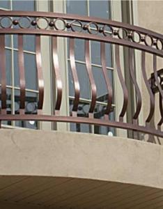 Belly special balcony rails grille railings also porch decorative railing wrought residential aluminum rh laornamental