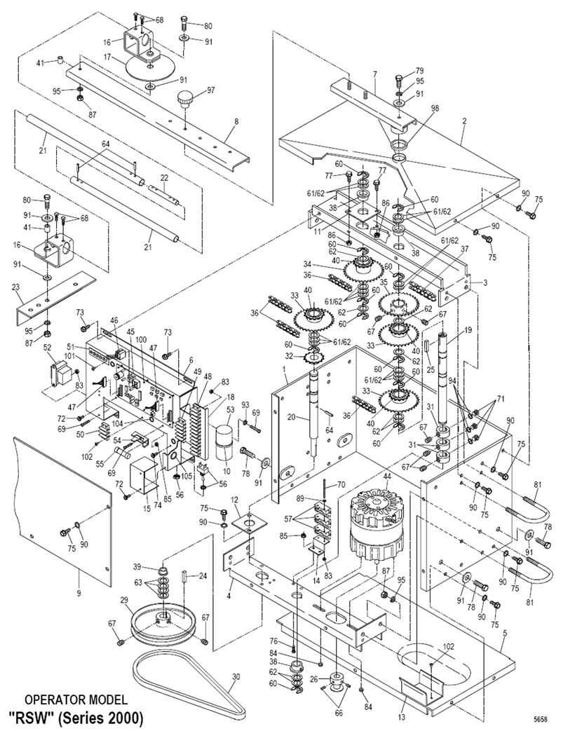 Powermaster Door Operator Wiring Diagram Nos Wiring