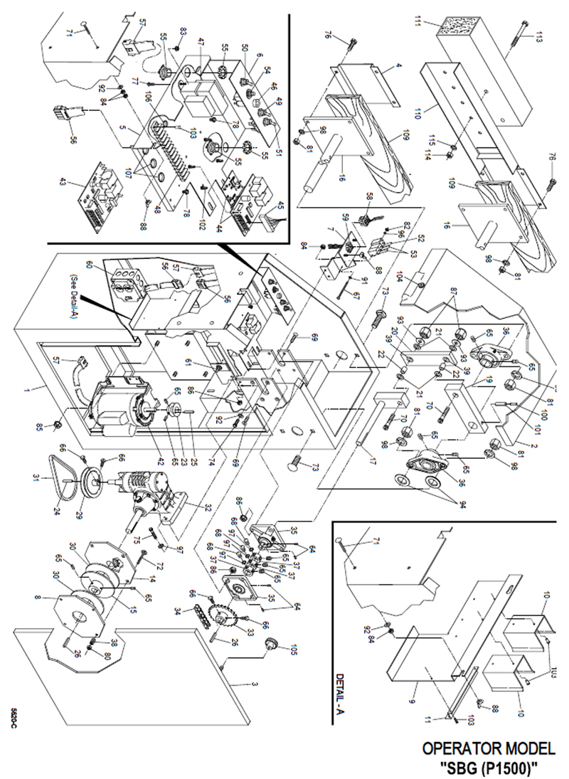 Gate Opener: Gate Opener Circuit Diagram