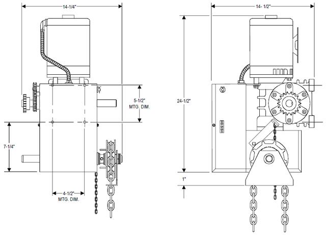 powermaster door operator wiring diagram