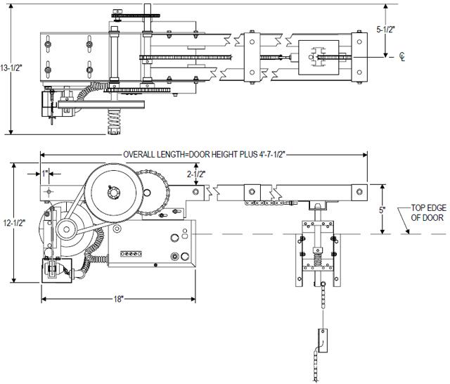 Power Master OverHead Door Operator SL Model
