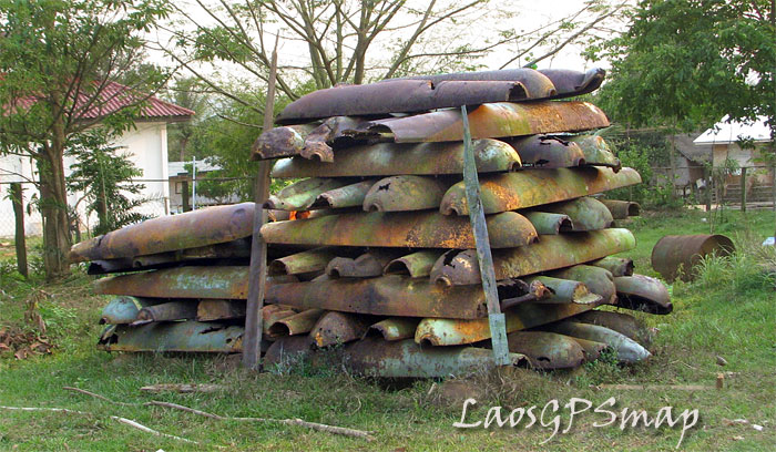 Ho Chi Minh Trail Bombie-casings