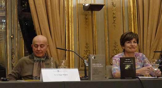 Mujica y María Angeles Pérez