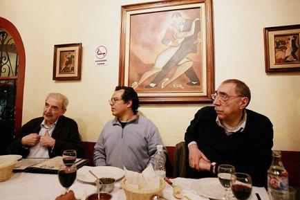 Gelman, Leyva, Fressia. Cena en Condesa