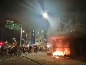 Bogotá incendiada