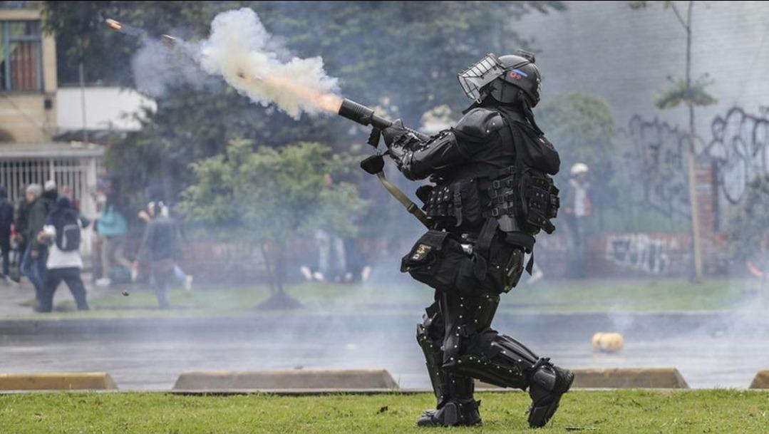 El gas lacrimógeno no va más en la protesta social