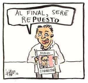 Andrés Echeverry - Caricatura