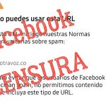 Facebook nos censura