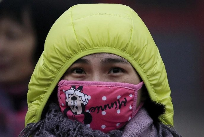 модные маски в китае