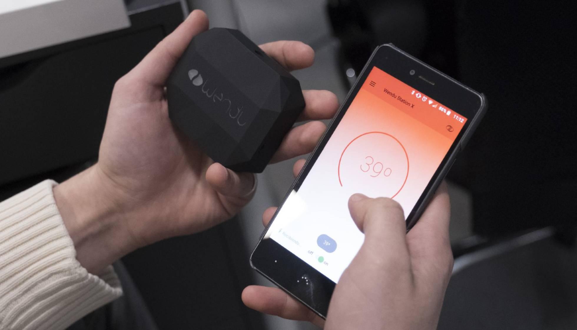 4bcb3af25 Un dispositivo para llevar bajo la ropa que genera frío y calor ...