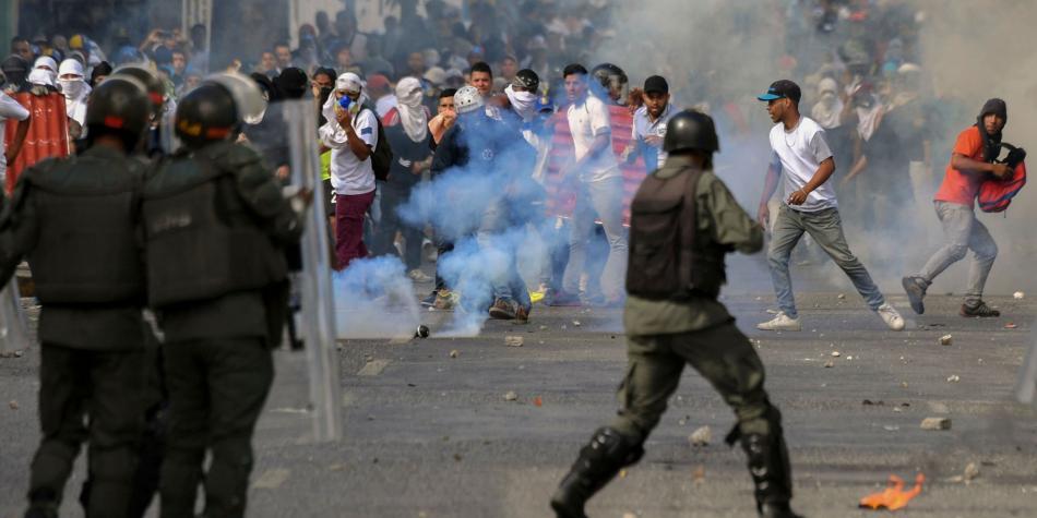 Enfrentamiento en la frontera de Colombia y Venezuela deja un herido
