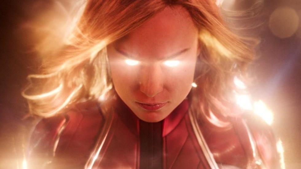 Capitana Marvel lidera taquilla en primer fin de semana de lanzamiento