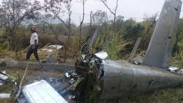 Otro ángulo del impactante accidente de avioneta en show aéreo