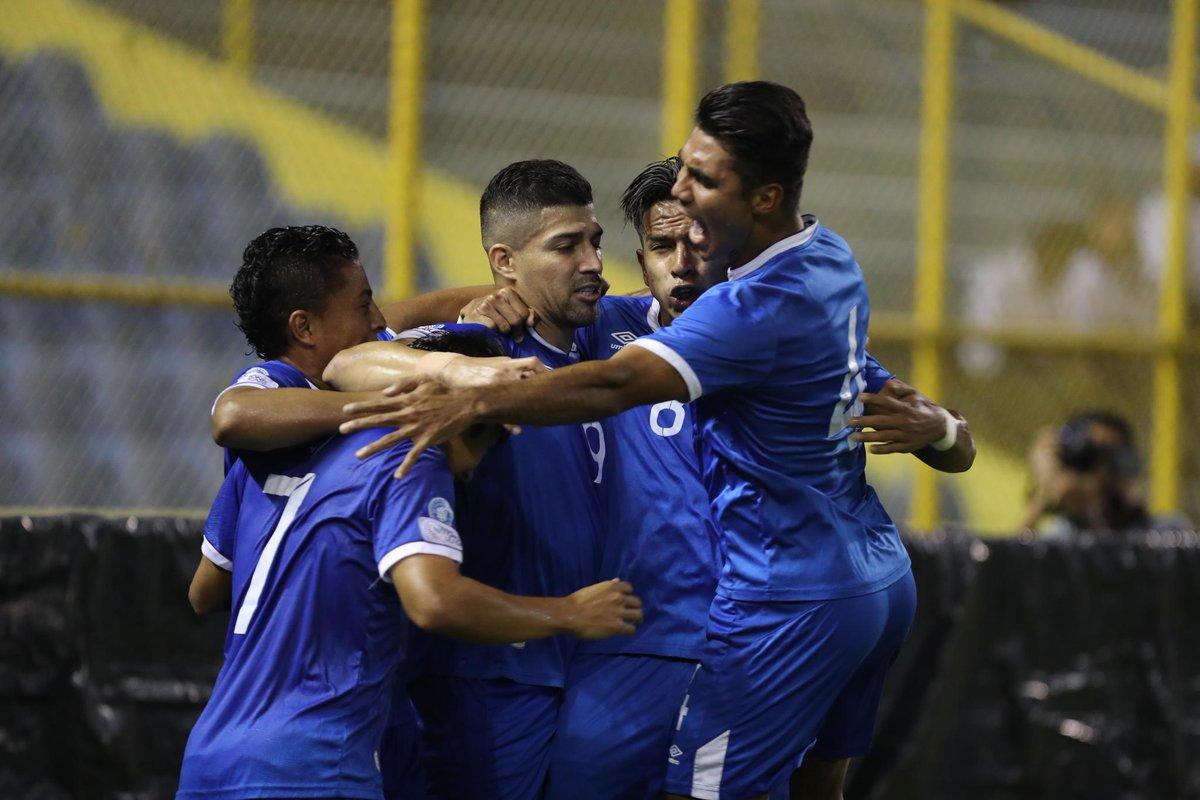 El Salvador vence a Jamaica en Liga de Naciones de Concacaf