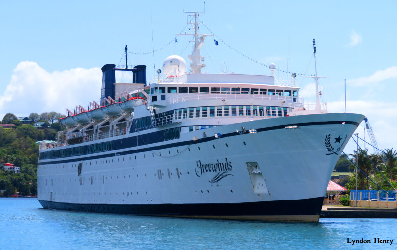 Ponen en cuarentena a barco de EU por brote de sarampión