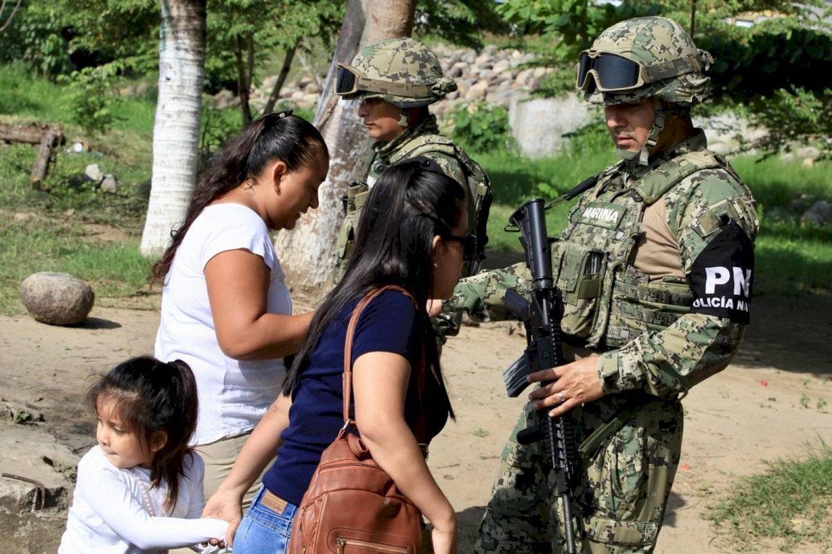 México envía casi 15.000 policías a la frontera con EEUU por migrantes