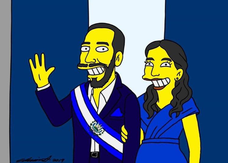 ¿Nayib Bukele aparecerá en Los Simpson?