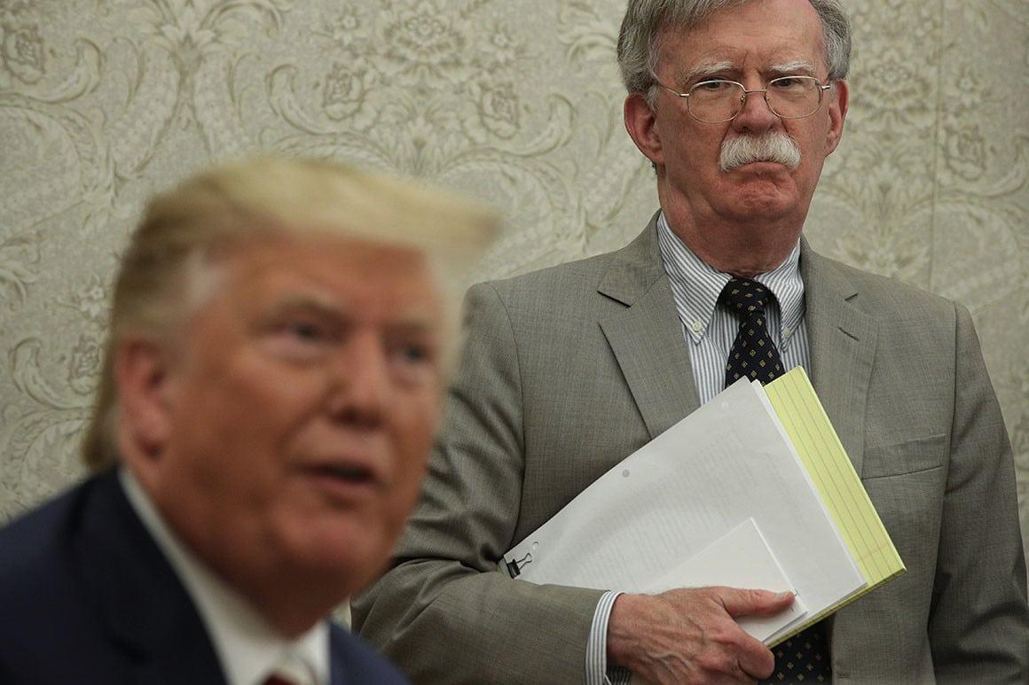 John Bolton, asesor de Seguridad de Trump, fue despedido