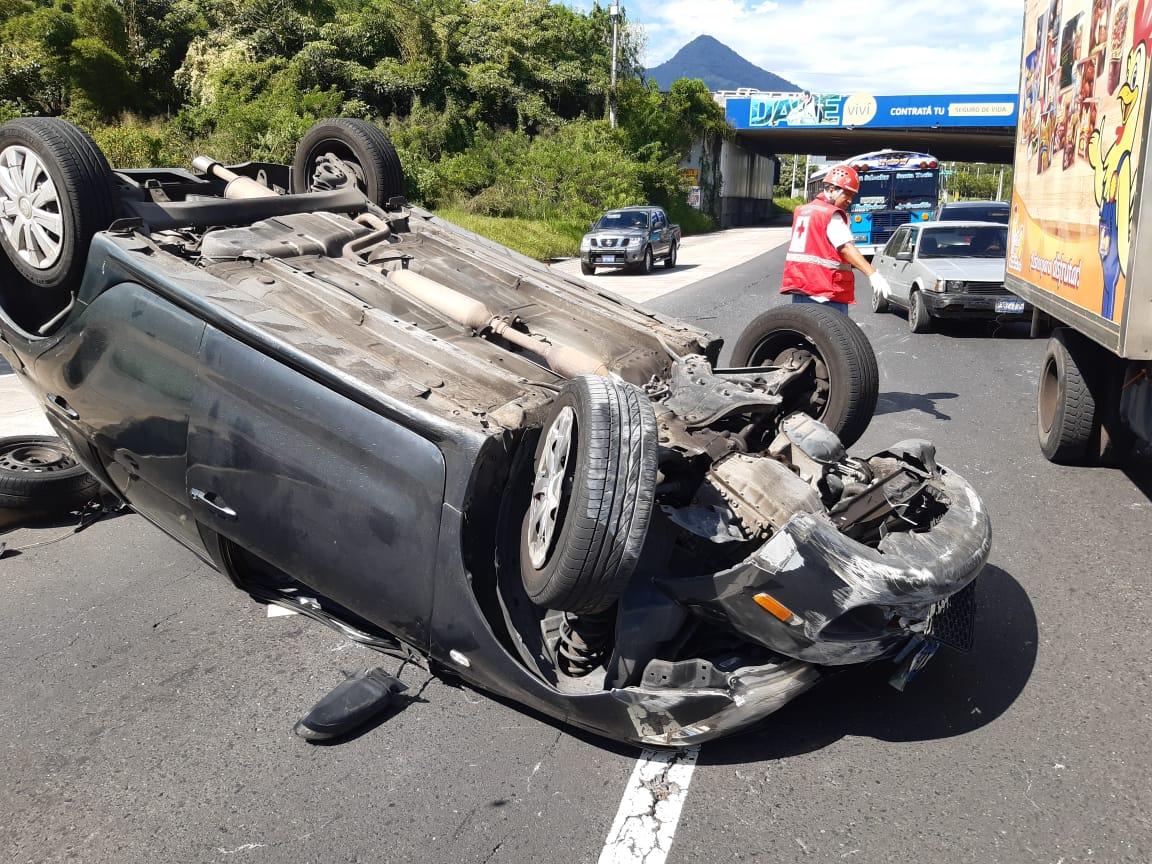 Accidente de tránsito deja dos lesionados en avenida Jerusalén - Diario La Página - Diario La Página