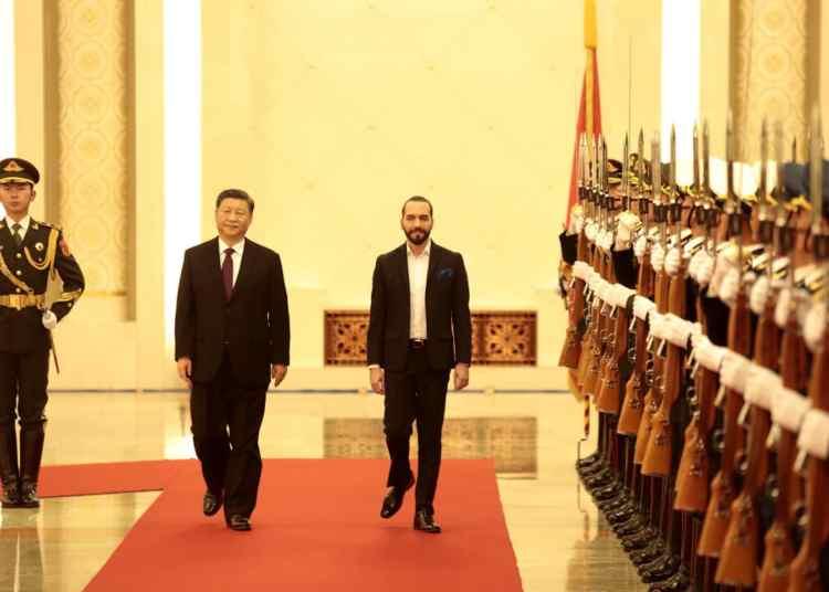 República Popular China confirma voluntad de ampliar relaciones bilaterales con El Salvador