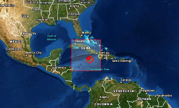 Resultado de imagen para Terremoto de 7.3 al Sur de Cuba, alerta de tsunami
