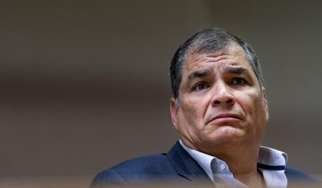 Rafael Correa fue condenado a ocho años de prisión por corrupción