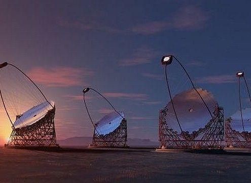 Telescoop Cherenkov La Palma
