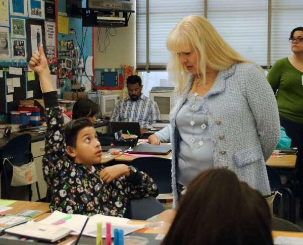 Common Core Education In Classroom