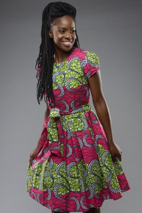 Chitenge Flared Dresses