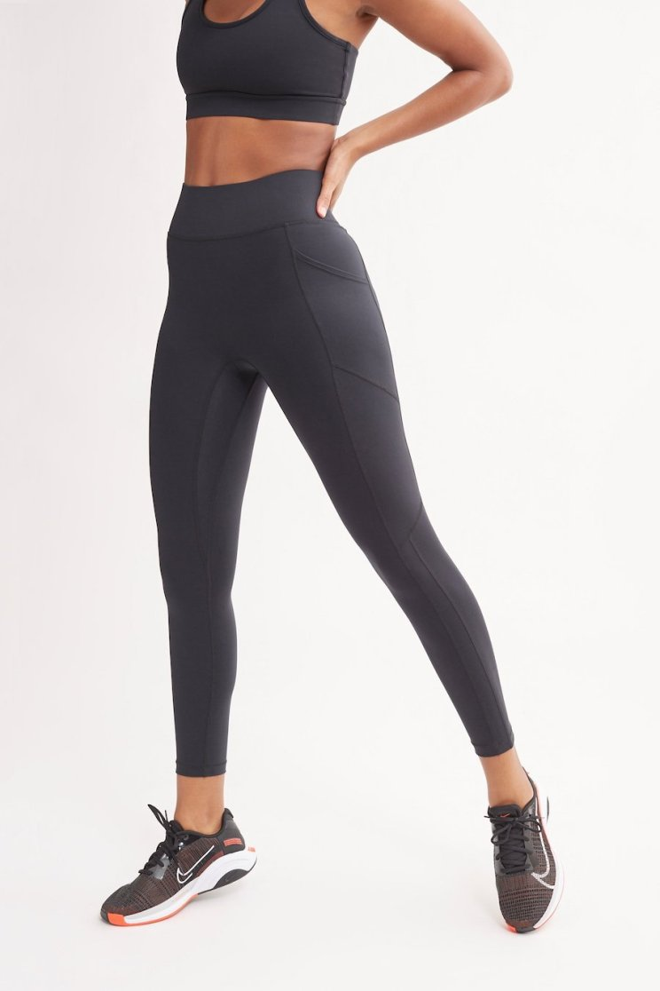 Bandier All Access High Waisted Center Stage Legging With Pocket - Alternatives to Gymshark