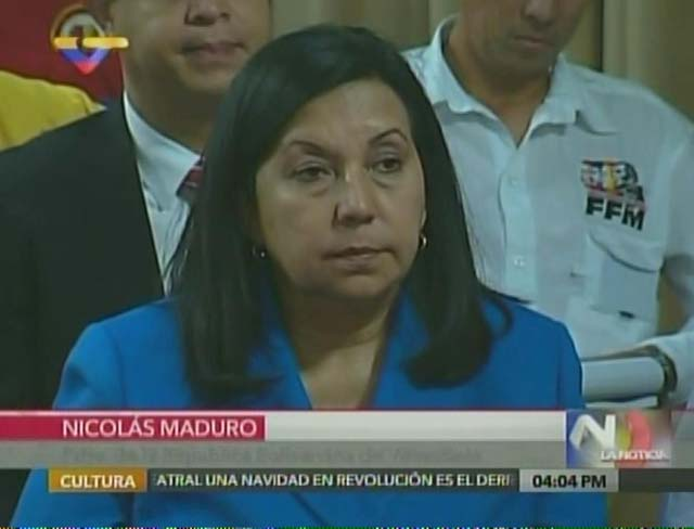Carmen Melendez. Foto: Captura VTV