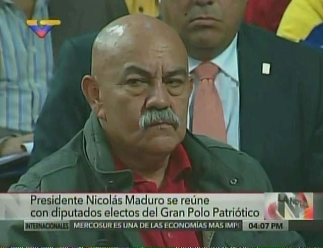 Darío Vivas. Foto: Captura VTV