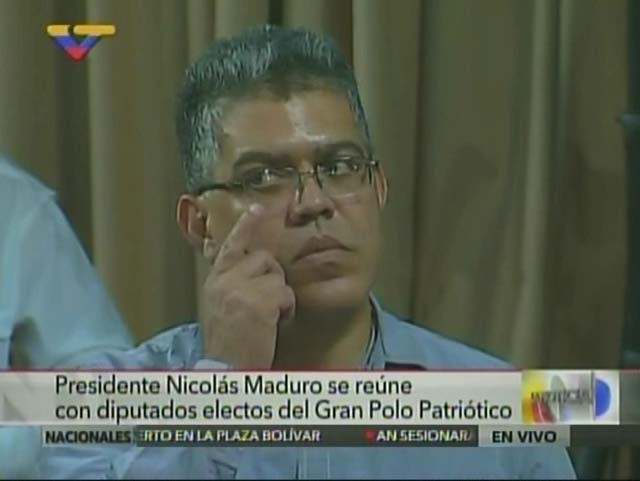 Elías Jaua. Foto: Captura VTV
