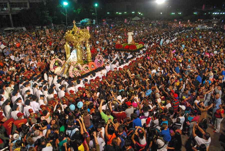 Maracaibo,Venezuela,18/11/2016. Misa en honor al la Chinita, en la Basilica de Mcbo.