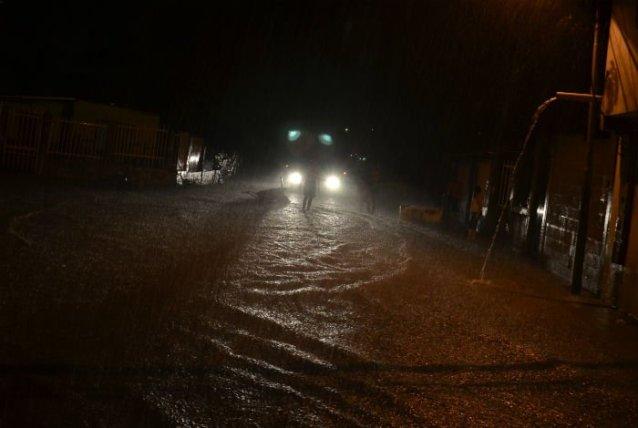 Lara inundada
