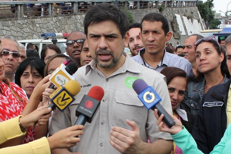 Carlos Ocariz, alcalde del municipio Sucre y candidato a la gobernación del estado Miranda // Foto Prensa