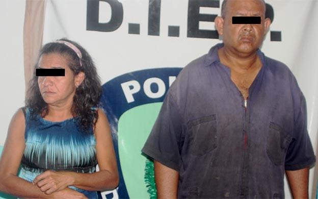 detenidos violación