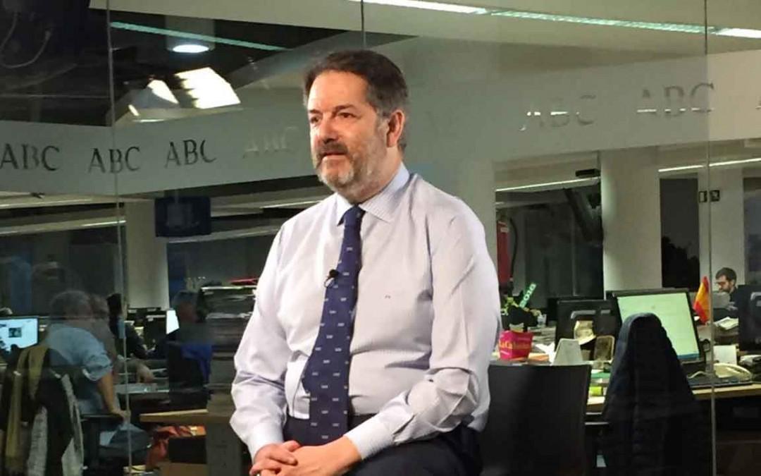 Bieito Rubido, director del diario ABD de España / Foto conversaciones.com