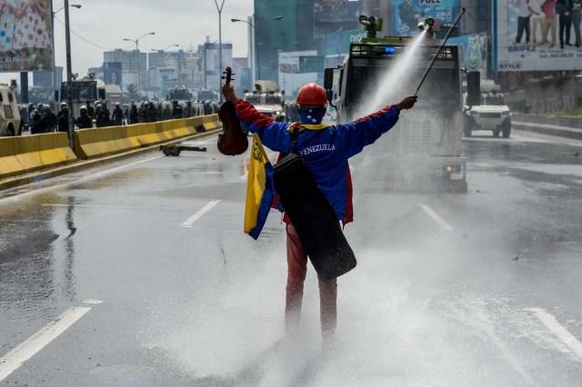 Wuilly Arteaga   AFP PHOTO / FEDERICO PARRA