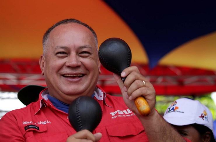 El diputado a la AN por el estado Monagas, Diosdado Cabello. REUTERS/Marco Bello