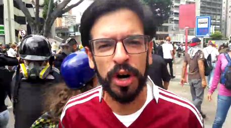 Foto: Miguel Pizarro denunció la represión en Bello Monte / La Patilla