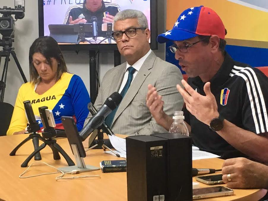 Capriles advirtió que vienen nuevos pronunciamientos contra la constituyente desde el seno del gobierno