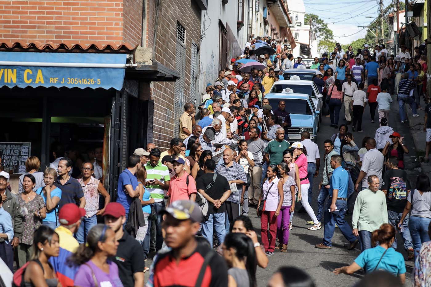 Los viejos feudos chavistas también votan en la consulta popular #16Jul