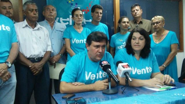 El coordinador de organización nacional de Vente Venezuela, Henry Alviarez