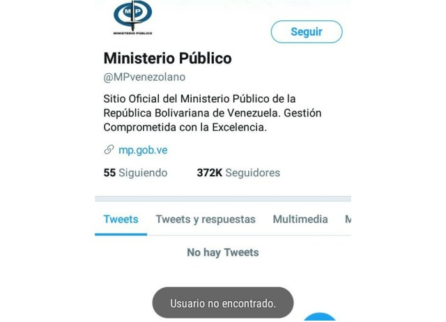 Foto: Captura de pantalla de @MPVenezolano